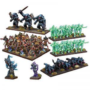 Mantic Kings of War  Nightstalkers Nightstalker Army - MGKWNS101 - 5060469664071