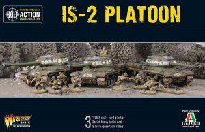 Warlord Games Bolt Action  Soviet Union (BA) Soviet IS2 Platoon - 402014006 - 5060393706977