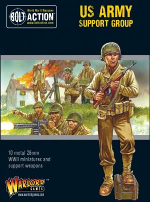 Warlord Games Bolt Action  United States of America (BA) US Army Support Group - 402213004 - 5060572503076