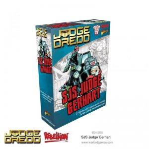 Warlord Games Judge Dredd  Judge Dredd Judge Dredd: SJS Judge Gerhart - 652410103 - 5060572503526