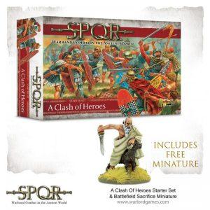 Warlord Games SPQR  SPQR SPQR: A Clash of Heroes - 151510001 - 9781911281559