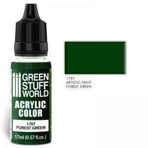 Green Stuff World   Acrylic Paints Acrylic Color FOREST GREEN - 8436574501568ES - 8436574501568