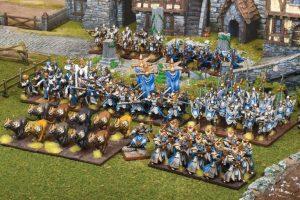 Mantic Kings of War  Forces of Basilea Basilean Mega Army - MGKWB109 - 5060469664347