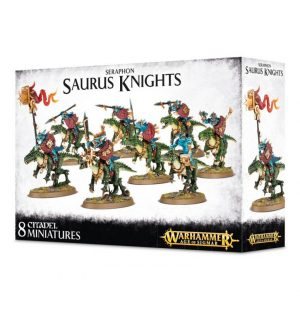 Games Workshop (Direct) Age of Sigmar  Seraphon Seraphon Saurus Knights - 99120208018 - 5011921066346
