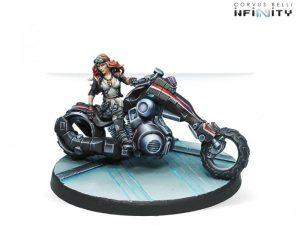 Corvus Belli Infinity  The Aleph Aleph Penthesilea Amazon Biker (Special Edition) - 280842-0513 - 2808420005135