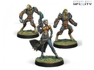 Corvus Belli Infinity  Tohaa Tohaa Support Pack - 280910-0424 - 2809100004240