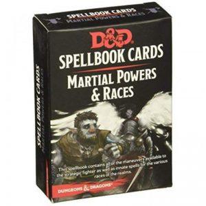 Gale Force Nine Dungeons & Dragons  D&D Decks D&D: Martial Powers & Races Deck - C56670000 - 9780786966523