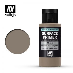 Vallejo   Model Air Primers AV Polyurethane - Primer IDF Sand Grey 61-73 FS30372 60ml - VAL73614 - 8429551736145