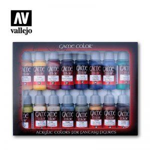 Vallejo   Paint Sets Vallejo Game Color - Advanced Set (x16) - VAL72298 - 8429551722988