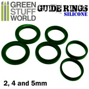 Green Stuff World   Rolling Pins Silicone Rolling Pin Guide Rings - 8436554364442ES - 8436554364442