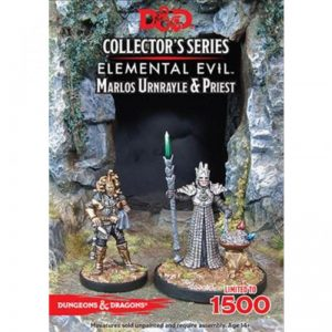 Gale Force Nine Dungeons & Dragons  D&D Miniatures D&D: Marlos Urnrayle & Earth Priest - GFN71039 - 9420020226951