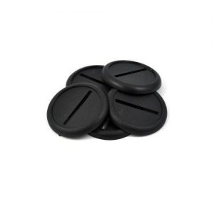 Outpost   Plain Bases Wround 40mm Plain Bases (5) - OP-40W - OP-40W