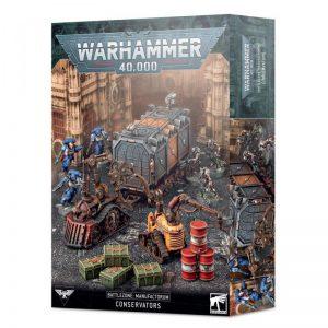 Games Workshop   40k Terrain Battlezone: Manufactorum – Conservators - 99120199078 - 5011921144150