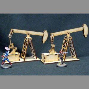 TTCombat   Wild West Scenics (28-32mm) Oil Pump - WWS022 - 5060504042529