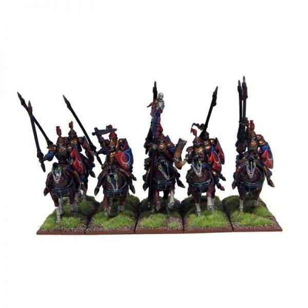 Mantic Kings of War  Undead Undead Revenant Cavalry Regiment - MGKWU60-1 - 5060208862652