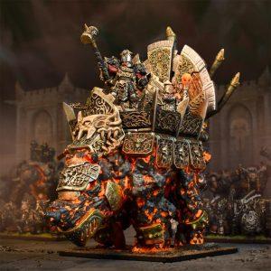 Mantic Kings of War  Abyssal Dwarves Abyssal Dwarf Hellfane - MGKWK401 - 5060469665214