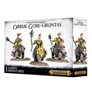 Games Workshop (Direct) Age of Sigmar  Orruk Warclans Orruk Gore-Gruntas - 99120209031 - 5011921070282