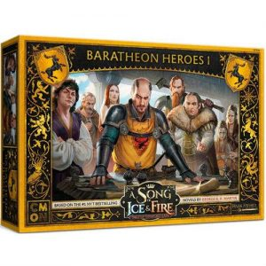 Cool Mini or Not A Song of Ice and Fire  House Baratheon A Song of Ice and Fire: Baratheon Heroes #1 - CMNSIF809 - 889696010186