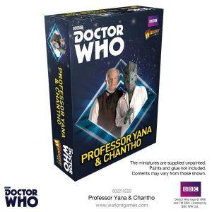 Warlord Games Doctor Who  Doctor Who Doctor Who: Professor Yana & Chantho - 602210220 - 5060393706403