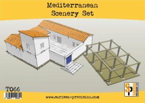 Warlord Games   Sarissa Precision Mediterranean Scenery Set - T066 - 5060572504301