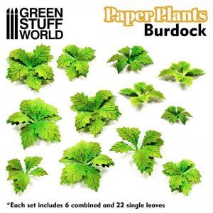Green Stuff World   Plants & Flowers Paper Plants - Burdock - 8436574508642ES - 8436574508642