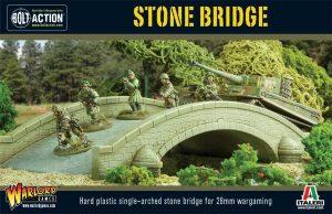 Warlord Games Bolt Action | Pike & Shotte | Black Powder  Warlord Games Terrain Stone Bridge - WG-TER-40 - 5060393700074