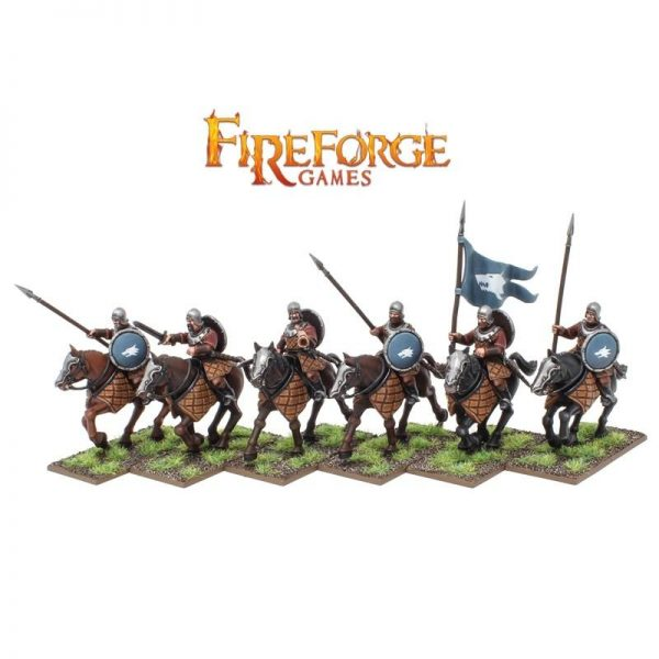 Fireforge Games   Forgotten World Northmen Cavalry - FFW102 - 2620000001029