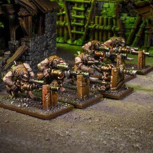 Mantic Kings of War  Ratkin Ratkin Clawshots Troop - MGKWRK302 - 5060469666747