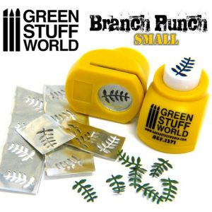 Green Stuff World   Stamps & Punches Miniature Branch Punch YELLOW - 8436554363711ES - 8436554363711