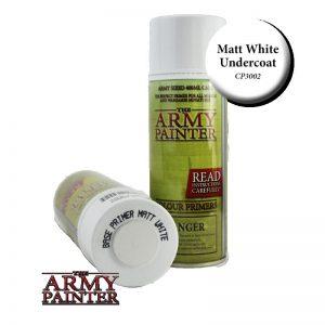 The Army Painter   Spray Paint AP Spray: Matt White - APCP3002 - 2540101130025