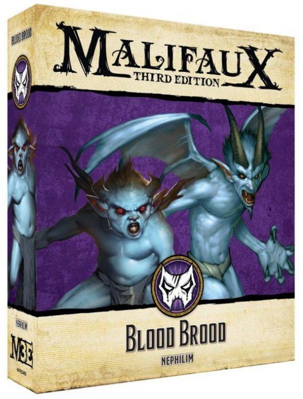 Wyrd Malifaux  Neverborn Blood Brood - WYR23415 - 812152032330