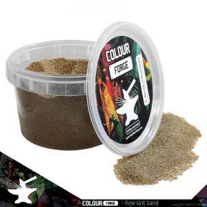 The Colour Forge   Sand & Flock Basing Sand - Fine Grit (275ml) - TCF-BAS-001 - 5060843100645