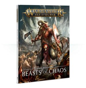 Games Workshop Age of Sigmar  Beasts of Chaos Battletome: Beasts of Chaos - 60030216003 - 9781788263160
