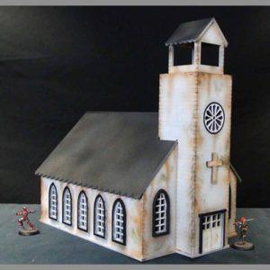 TTCombat   Wild West Scenics (28-32mm) Church - WWS019 -