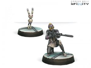 Corvus Belli Infinity  The Aleph Aleph Atalanta, Agema's NCO & Spotbot - 280834-0434 - 2808340004348