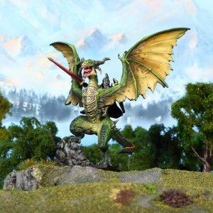 Mantic Kings of War  Elf Armies Elf Lord on Drakon - MGKWE201 - 5060469666914