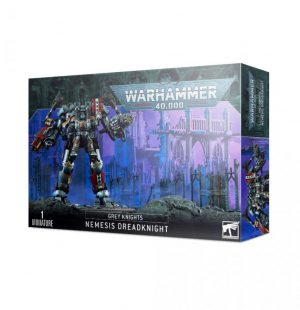 Games Workshop Warhammer 40,000  Grey Knights Grey Knights Nemesis Dreadknight (2021) - 99120107017 - 5011921153756