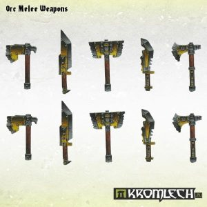 Kromlech   Orc Conversion Parts Orc Melee Weapons (10) - KRCB143 - 5902216113039