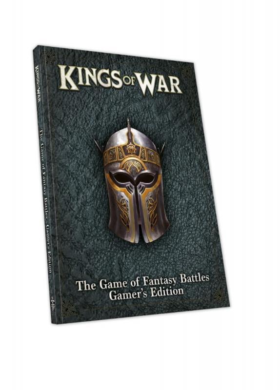 Mantic   Kings of War Essentials Kings of War: 3rd Edition Gamers Edition Rulebook - MGKWM106 - 5060469664644