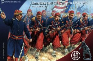 Perry Miniatures   Perry Miniatures American Civil War Zouaves 1861-1865 - ACW70 - ACW70