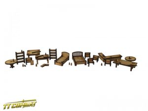TTCombat   Wild West Scenics (28-32mm) Wild West Furniture Pack - WWS032 - 5060504042611