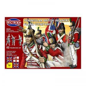 Victrix   Victrix British Peninsular Infantry Flank Company - VX0004 - 5060191720038