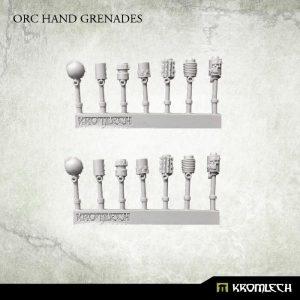 Kromlech   Orc Conversion Parts Orc Hand Grenades (14) - KRCB190 - 5902216115675