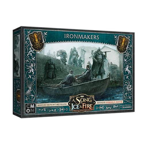 Cool Mini or Not A Song of Ice and Fire  House Greyjoy A Song of Ice and Fire: Greyjoy Ironmakers - CMNSIF903 - 889696011237
