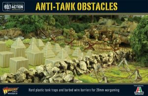 Warlord Games Bolt Action  Warlord Games Terrain Anti-Tank Obstacles - WG-TER-39 - 5060393700067