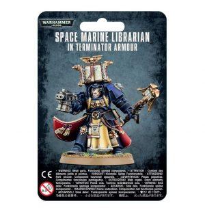 Games Workshop (Direct) Warhammer 40,000  Space Marines Space Marine Librarian in Terminator Armour - 99070101033 - 5011921091553