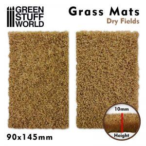 Green Stuff World   Grass Mats Grass Mat Cutouts - Dry Fields - 8436574508390ES - 8436574508390