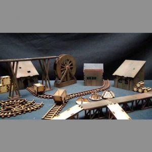 TTCombat   Wild West Scenics (28-32mm) Wild West Industrial Set - WWS008 - WWS008