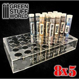 Green Stuff World   Paint Racks Rolling Pin Display 8x5 - 8436574503449ES - 8436574503449