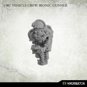 Kromlech   Orc Model Kits Orc Vehicle Crew: Bionic Gunner (1) - KRM126 - 5902216115323